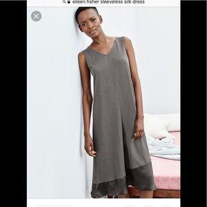 Eileen Fisher Silk lined cotton dress
